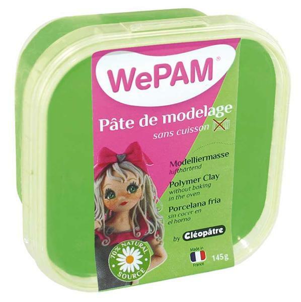 WePAM modelleermassa - 145 g, groen