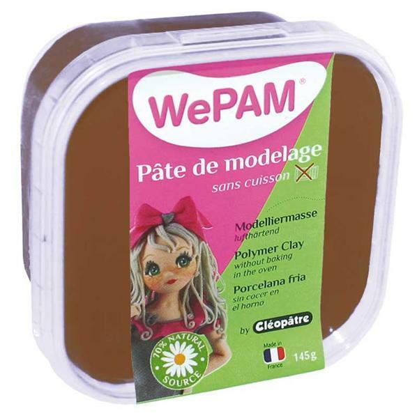 WePAM modelleermassa - 145 g, chocolade