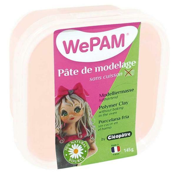WePAM Pâte de modelage - 145 g, chair