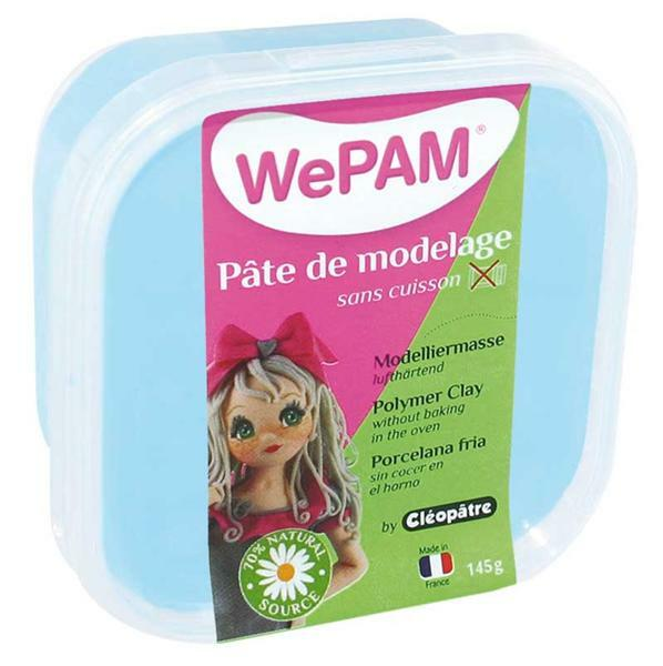 WePAM Pâte de modelage - 145 g, azur