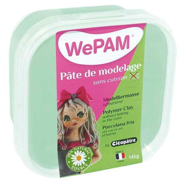 WePAM Pâte de modelage - 145 g, menthe