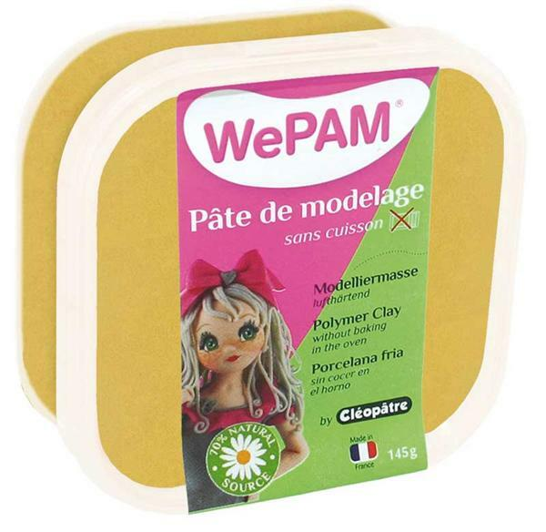 WePAM Modelliermasse - 145 g, gold