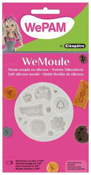 WeMoule forme silicone, boutons