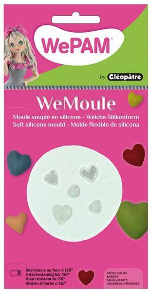 WeMoule forme silicone, cœurs