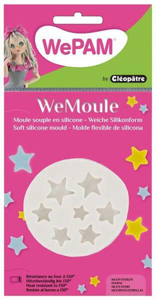WeMoule forme silicone, étoiles