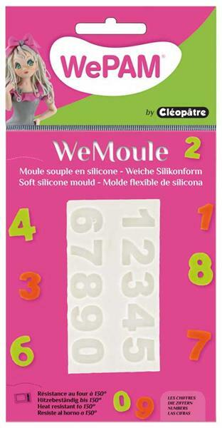 WeMoule forme silicone, chiffres