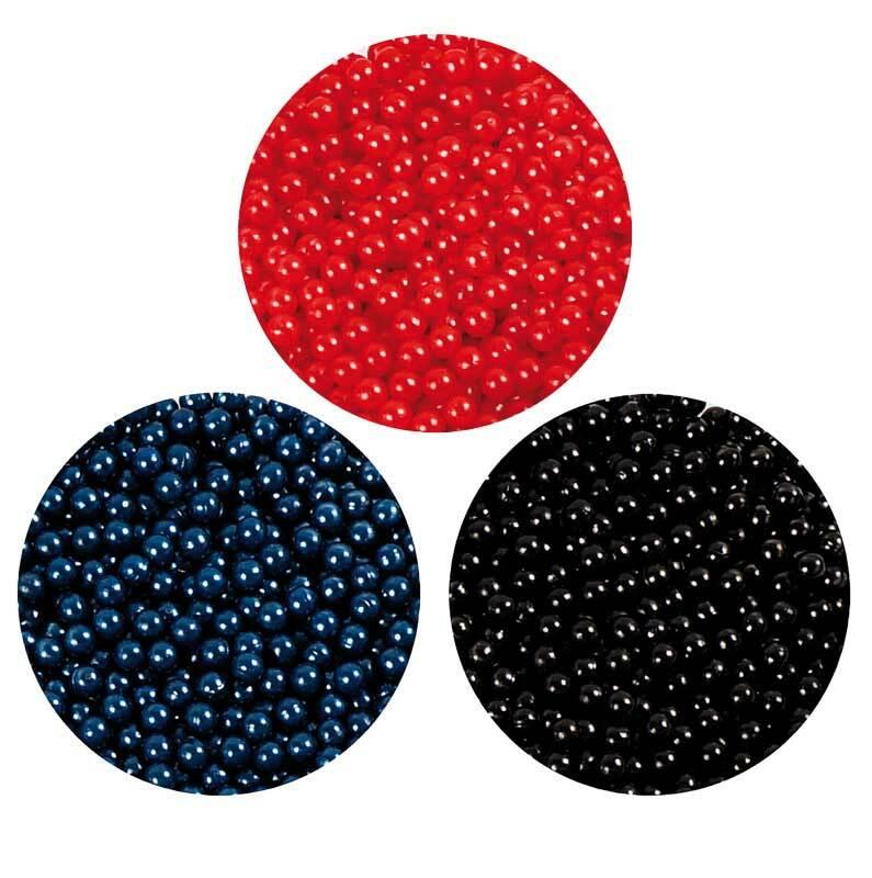 Pearl Clay ® - Set, blau-rot-schwarz