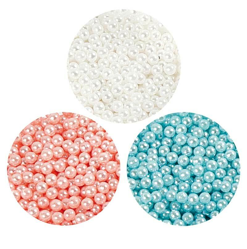 Pearl Clay ® - Set, blauw-crème-roze
