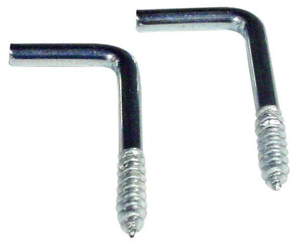 Schraubhaken - 100er Pkg., gerade 25 mm