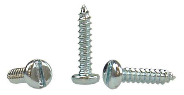 Blikschroeven - 100 st. pak, 2,9 x 13 mm