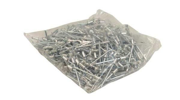Popnagels - 500 st./pak, 3,2 x 6 mm