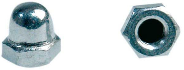Ecrous borgnes - 100 pces, M4