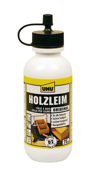 UHU coll Holzleim - Flasche, 75 g
