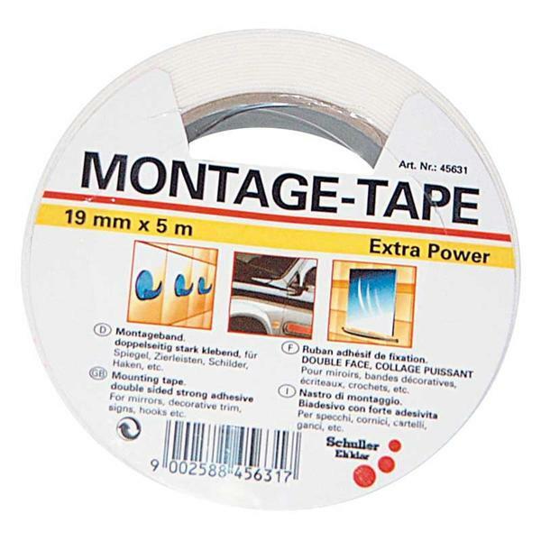 Montage-tape met Extra Power, 5 m