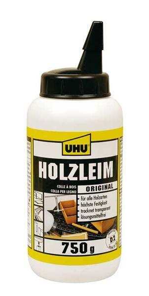UHU coll Holzleim - Flasche, 750 g