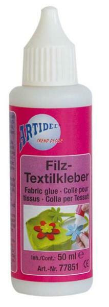 Colle textile-feutre, 50 ml