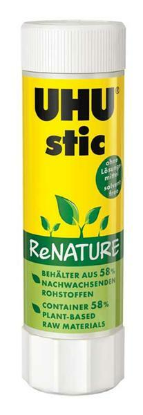 UHU stic Klebestift - ReNATURE, 40 g