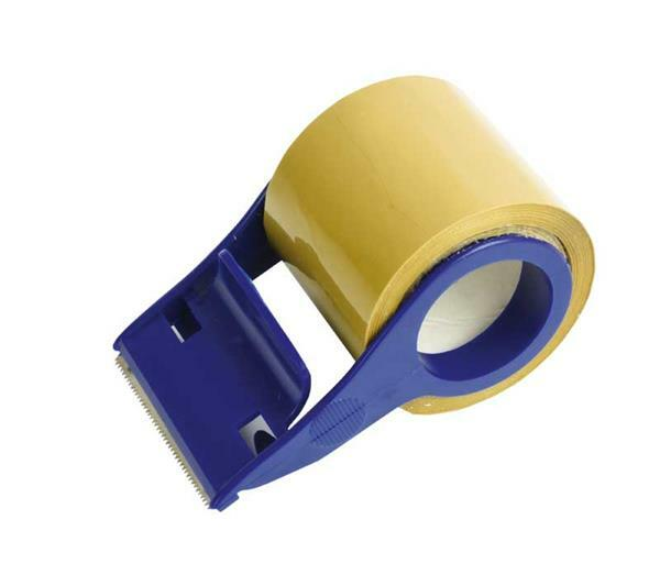 Mini-tapedispenser met tape - 50 mm x 20 m