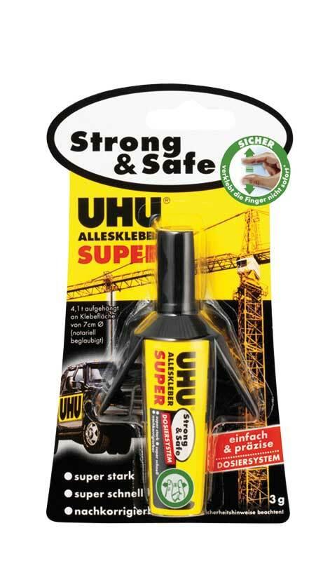 UHU  - Colle tout super doseur, 3 g