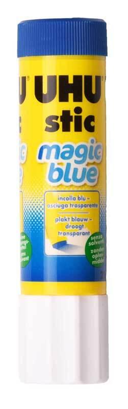 Bâton de colle UHU Magic Blue - 8,2 g
