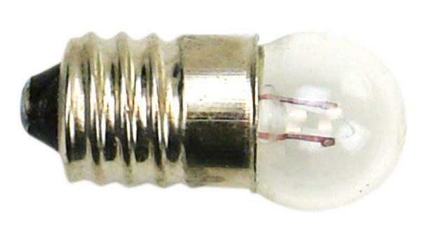 Ampoule à incandescence 1.5V, 10 pces