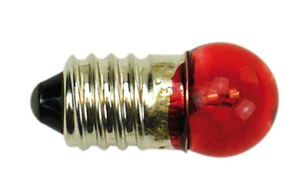 Ampoule à incandescence 3 - 4.5 V, 10 pces, rouge