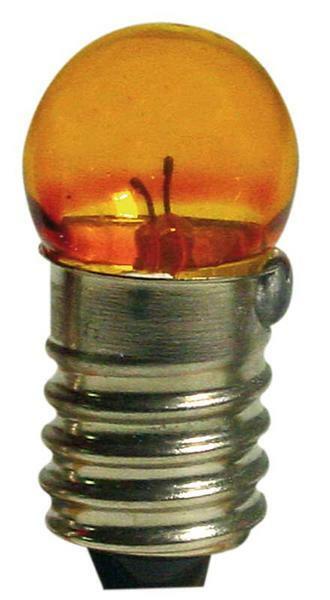 Gloeilampje 3 - 4,5 V, geel, 10 st./pak