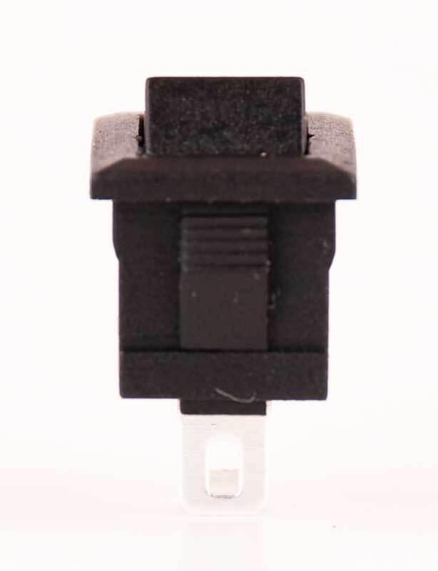 Tuimelschakelaar - 10 st. pak, zwart
