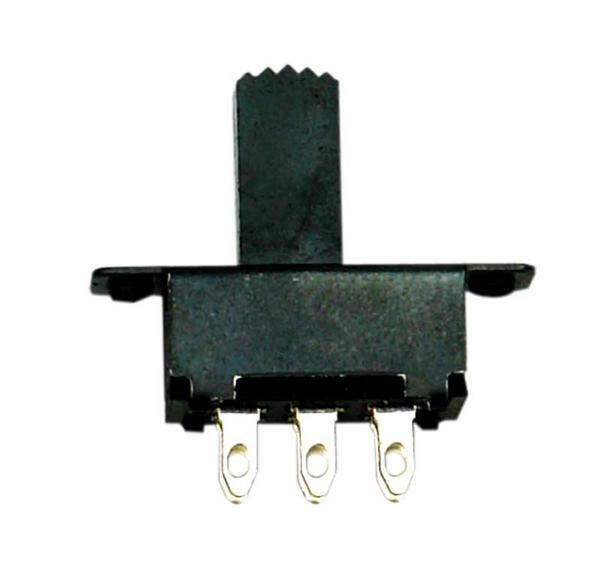 Schuifschakelaar - 6 pins, aan - uit, 10 stuks/pak