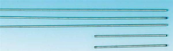 Tiges filetées - 10 pces, Long. env. 50 cm, M4