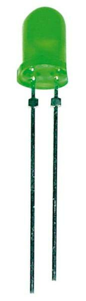 Leuchtdiode LED Ø 5 mm - 10er Pkg., grün