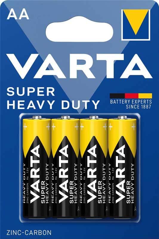 Batterie Varta 1,5 V AA - Superlife, 4er Pkg.