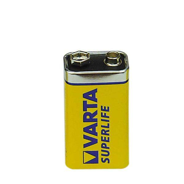 Piles Varta 9 V - Block E-Superlife