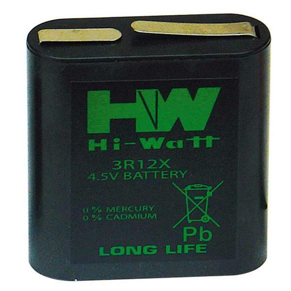 Zink-koolstof batterij - 4,5 V, platte batterij