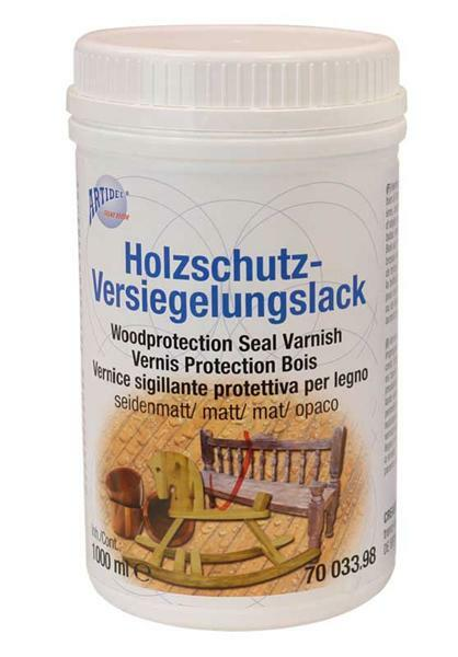 Holzschutz - Versiegelungslack 1000 ml seidenmatt