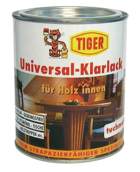 Vernis universel clair - Tiger 750 ml, brillant