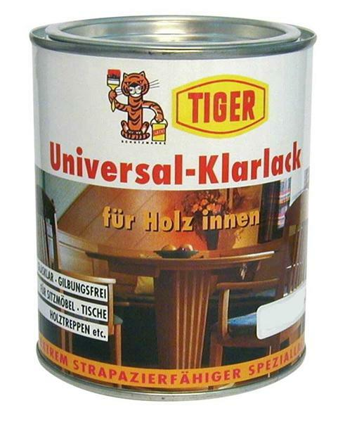 Universele transp. lak - Tiger 750 ml, mat satijn