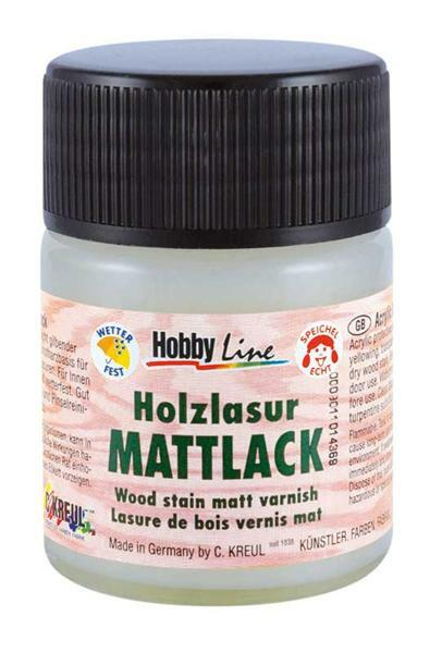 Schutzlack für Holzlasuren - 50 ml, matt