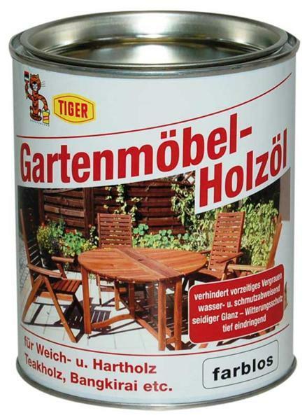 Gartenmöbel Holzöl - 750 ml, farblos