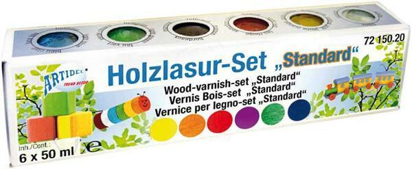 Holzlasur-Set - 6 x 50 ml, Standard