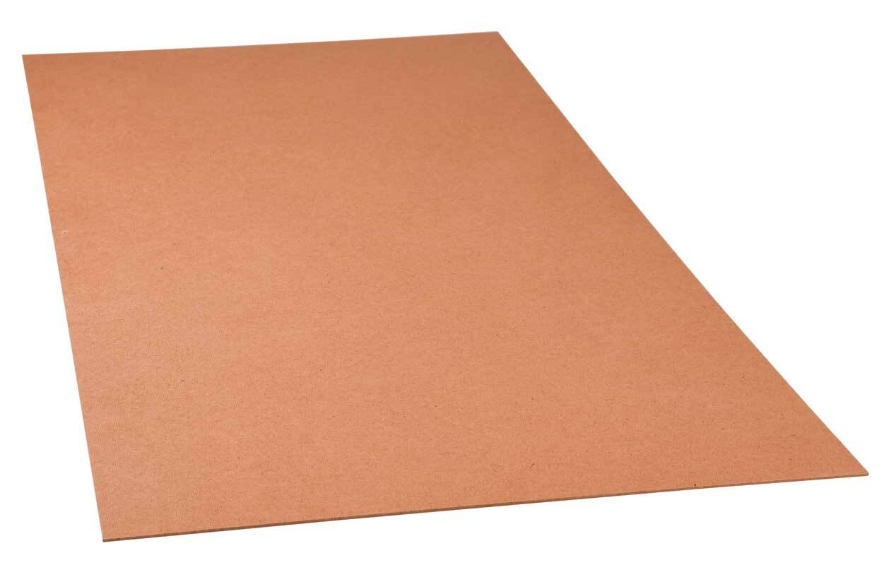 Hardboardplaat - 4 mm, zaagservice