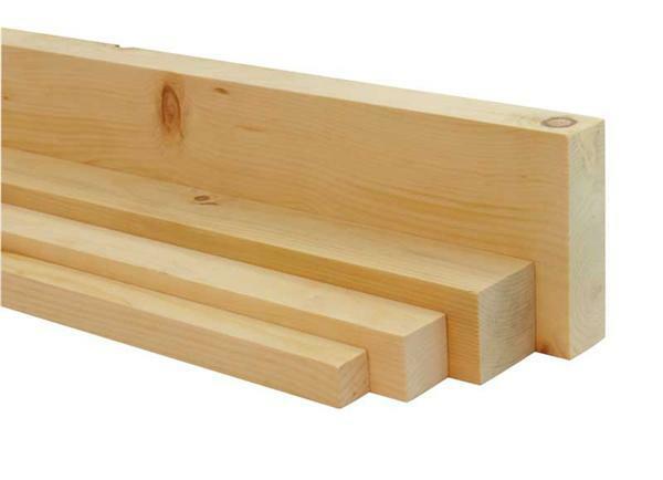 Zirbenholz-Leiste - 20 cm, 4,2 x 4,2 cm
