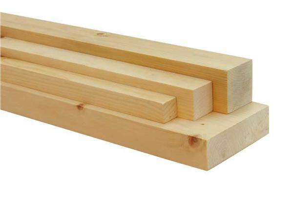 Zirbenholz-Leiste - 50 cm, 4,2 x 4,2 cm