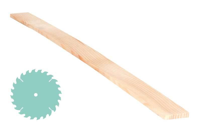 Zirbenholz-Zuschnitt - 0,5 x 3 cm