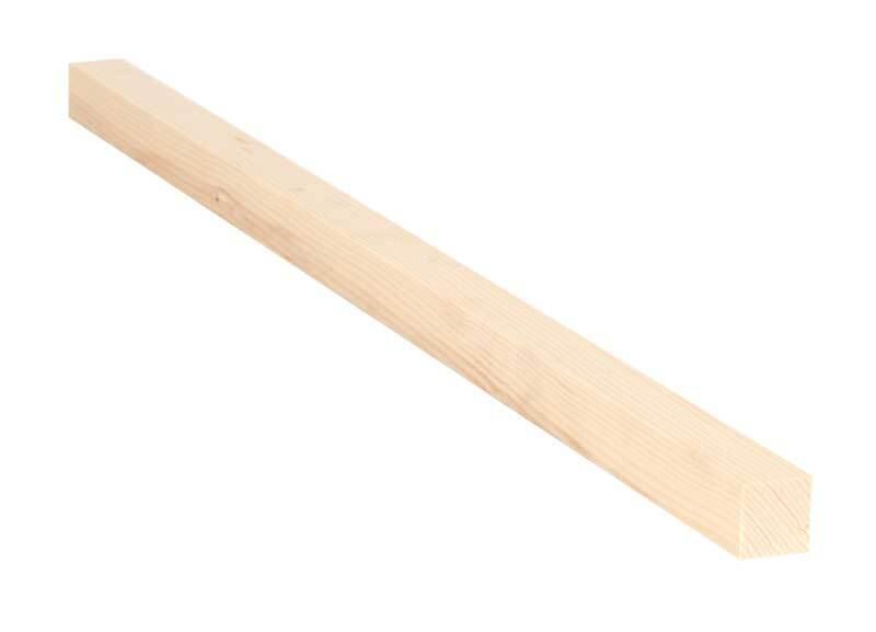Alpenden lat - 50 cm, 2 x 2 cm