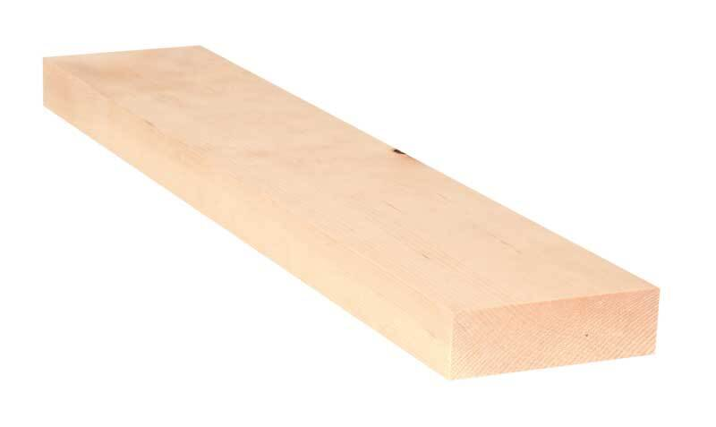 Alpenden plank - 50 cm, 3 x 10 cm