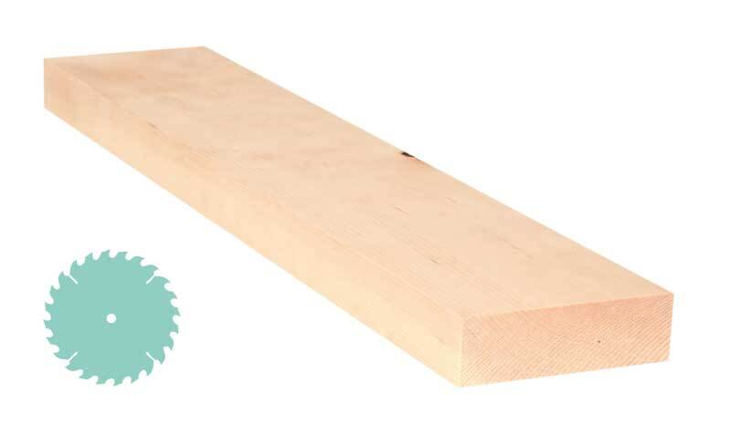 Alpenden plank - zaagservice, 3 x 10 cm