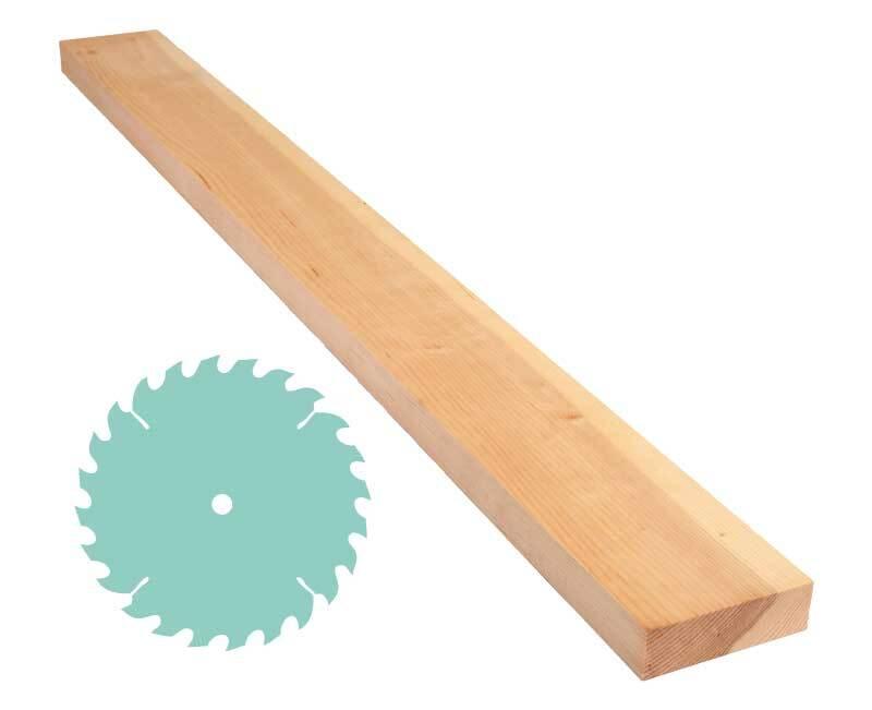 Zirbenholz-Zuschnitt - 3 x 10 cm