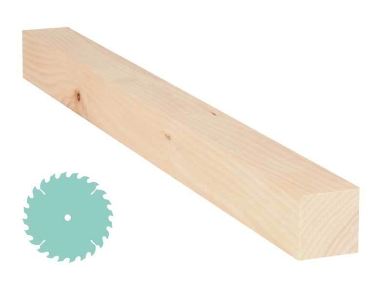 Zirbenholz-Zuschnitt - 4,2 x 4,2 cm