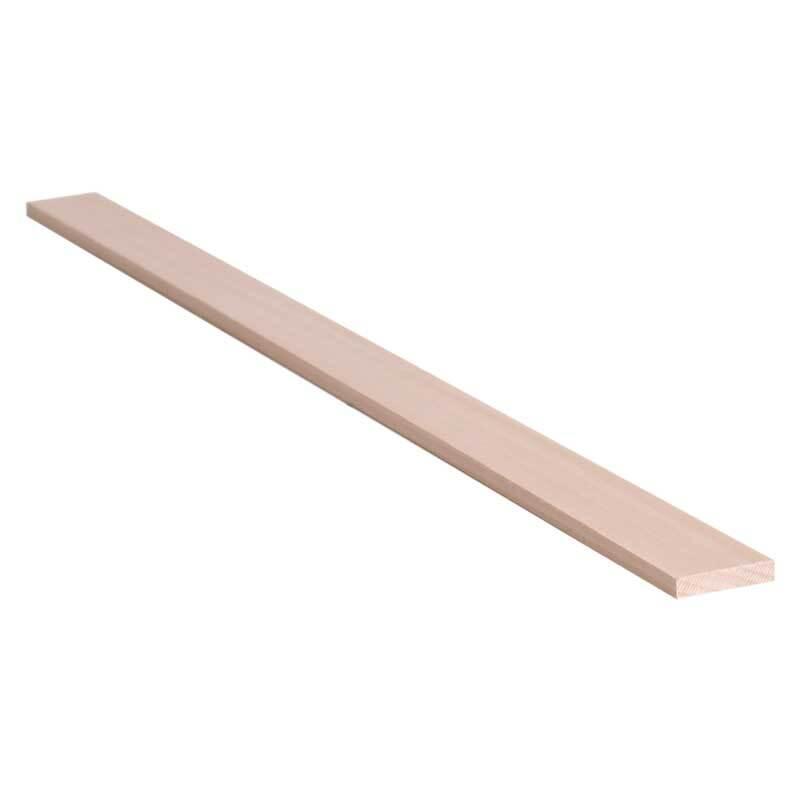 Lindenholz - 50 cm, 0,5 x 2,5 cm